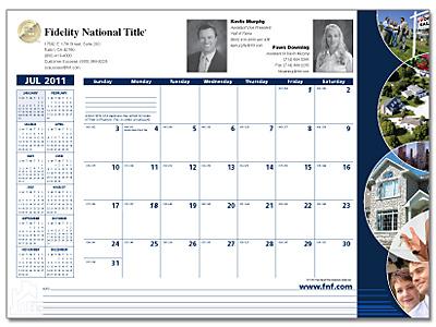 Deskpad Calendars from Dataguide