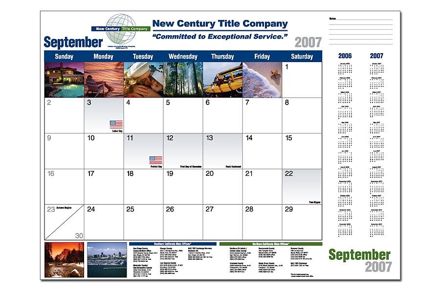 Promotional calendars   Custom calendars