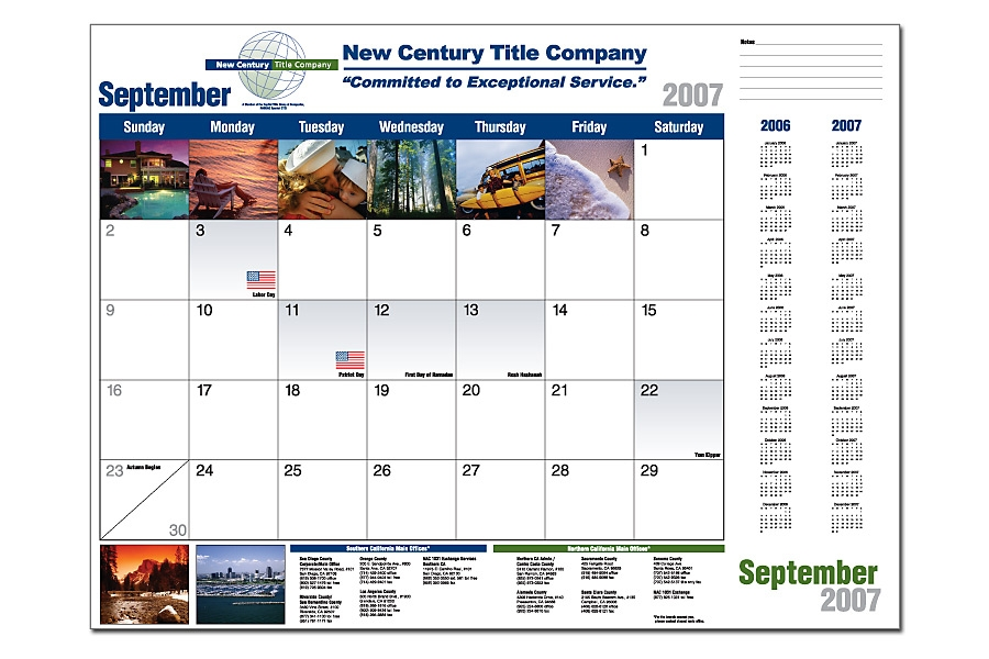 Promotional calendars | Custom calendars