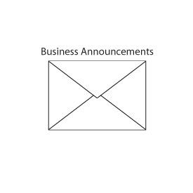 Announcement Envelope