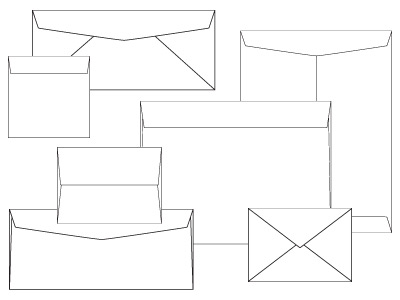 Envelope Sizes and Envelope Styles