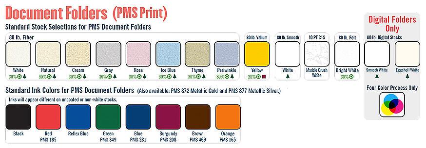 Doc Folders 2013 Ink Paper