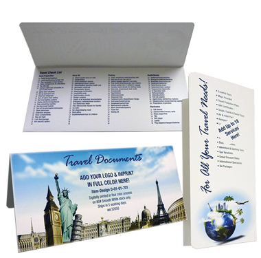 A Travel Document Folder Can Promote Your Brand