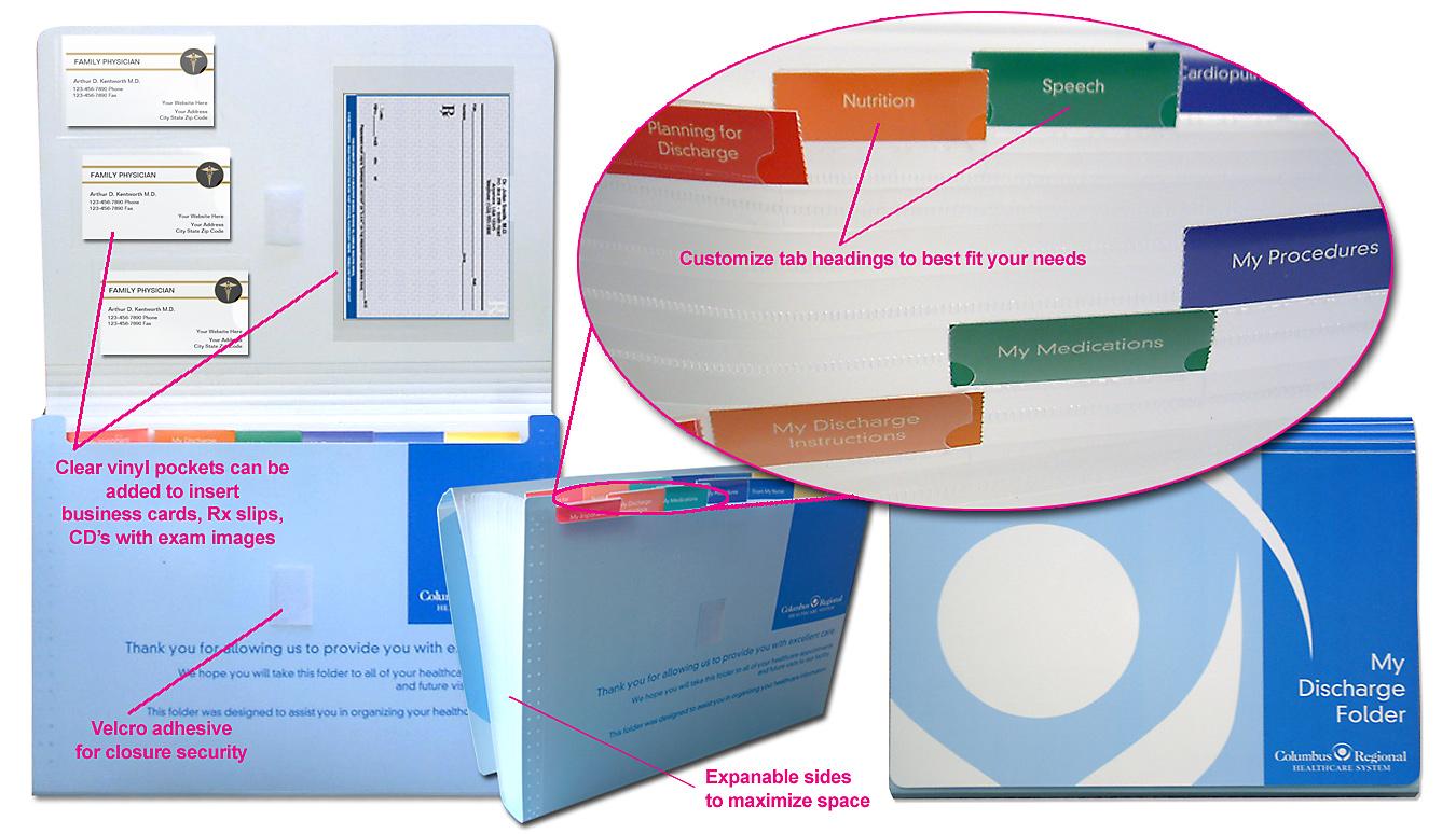 Discharge Folder | Discharge Folders