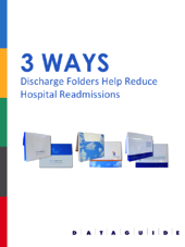 dataguide 3 ways discharge folders help reduce hospital readmissions