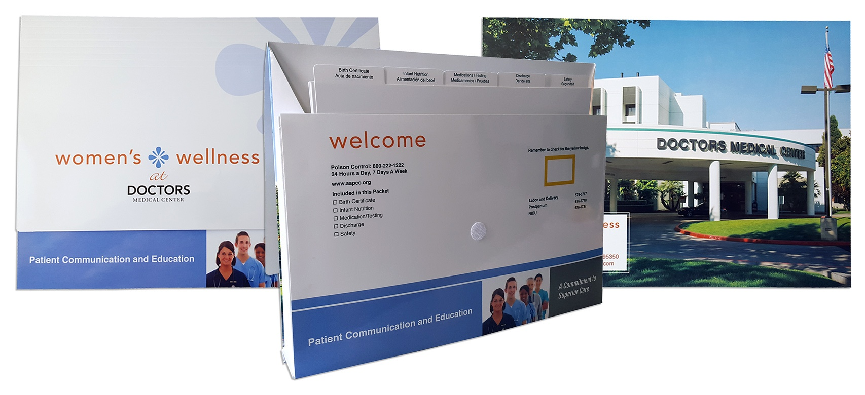 Patient Guide Discharge Folder